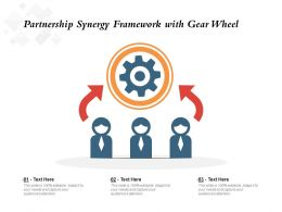 Partnership Synergy Framework With Gear Wheel