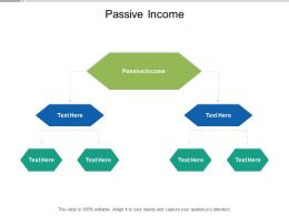 Passive Income Ppt Powerpoint Presentation Summary Rules Cpb
