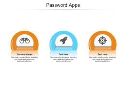 Password Apps Ppt Powerpoint Presentation Professional Graphics Download Cpb
