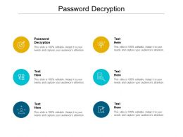 Password Decryption Ppt Powerpoint Presentation Icon Deck Cpb