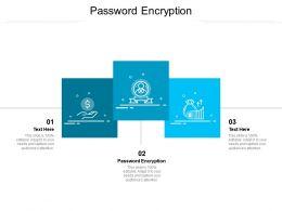 Password Encryption Ppt Powerpoint Presentation Ideas Inspiration Cpb