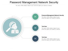 Password Management Network Security Ppt Powerpoint Presentation Outline Graphics Design Cpb
