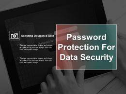 Password Protection For Data Security Ppt Example