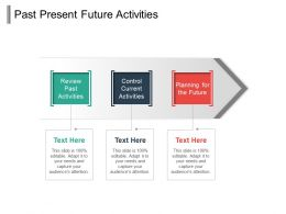 Past Present Future Activities Powerpoint Slides
