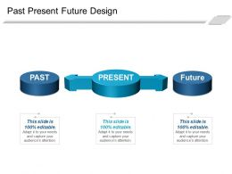 Past Present Future Design Powerpoint Slides Design
