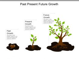 Past Present Future Growth Powerpoint Templates