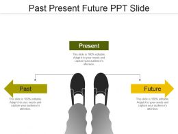 Past Present Future Ppt Slide