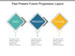 Past Present Future Progressive Layout Powerpoint Themes