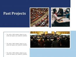 Past Projects Ppt Powerpoint Presentation Professional Files