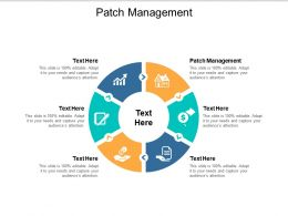 Patch Management Ppt Powerpoint Presentation Gallery Background Designs Cpb