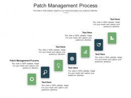 Patch Management Process Ppt Powerpoint Presentation Portfolio Templates Cpb