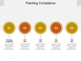 Patching Compliance Ppt Powerpoint Presentation Summary Guide Cpb