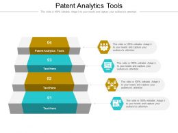 Patent Analytics Tools Ppt Powerpoint Presentation Infographic Template Gridlines Cpb