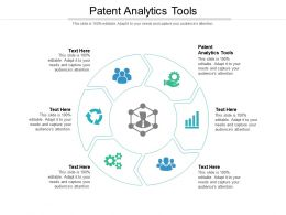 Patent Analytics Tools Ppt Powerpoint Presentation Layouts Shapes Cpb