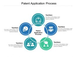 Patent Application Process Ppt Powerpoint Presentation Model Styles Cpb
