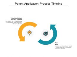 Patent Application Process Timeline Ppt Powerpoint Presentation Outline Demonstration Cpb