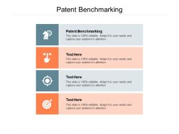 Patent Benchmarking Ppt Powerpoint Presentation Infographic Template Slide Download Cpb