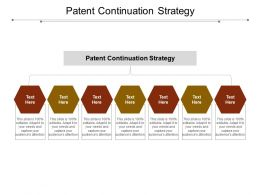 Patent Continuation Strategy Ppt Powerpoint Presentation Icon Ideas Cpb
