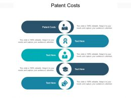 Patent Costs Ppt Powerpoint Presentation Show Template Cpb