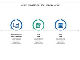 Patent Divisional Vs Continuation Ppt Powerpoint Presentation Show Model Cpb