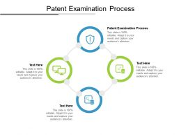 Patent Examination Process Ppt Powerpoint Presentation Layouts Graphics Pictures Cpb