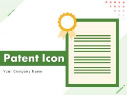 Patent Icon Business Containing Document Certificate Protection