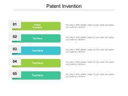 Patent Invention Ppt Powerpoint Presentation Professional Show Cpb