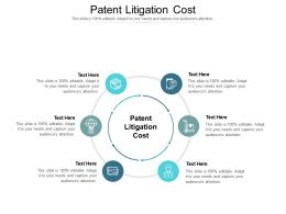 Patent Litigation Cost Ppt Powerpoint Presentation Gallery File Formats Cpb