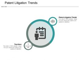 Patent Litigation Trends Ppt Powerpoint Presentation Inspiration Layout Ideas Cpb
