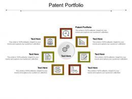 Patent Portfolio Ppt Powerpoint Presentation Gallery Layout Cpb