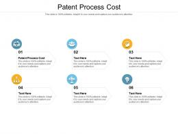 Patent Process Cost Ppt Powerpoint Presentation Show Tips Cpb