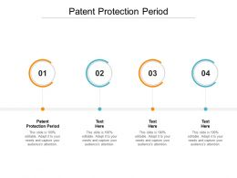 Patent Protection Period Ppt Powerpoint Presentation Summary Graphics Pictures Cpb