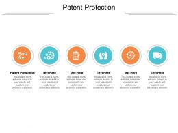 Patent Protection Ppt Powerpoint Presentation Show Skills Cpb