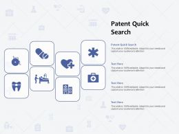 Patent Quick Search Ppt Powerpoint Presentation Ideas Graphics