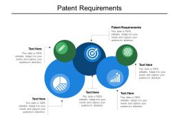 Patent Requirements Ppt Powerpoint Presentation Infographic Template Template Cpb