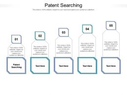 Patent Searching Ppt Powerpoint Presentation Infographic Template Pictures Cpb