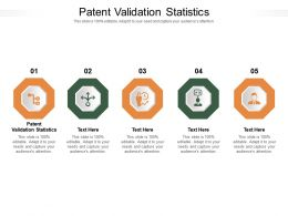 Patent Validation Statistics Ppt Powerpoint Presentation Infographic Template Design Ideas Cpb