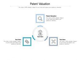 Patent Valuation Ppt Powerpoint Presentation Summary Ideas Cpb