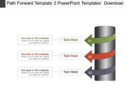 Path Forward Template 2 Powerpoint Templates  Download