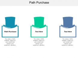 Path Purchase Ppt Powerpoint Presentation Gallery Inspiration Cpb