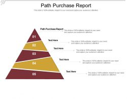 Path Purchase Report Ppt Powerpoint Presentation Layouts Topics Cpb