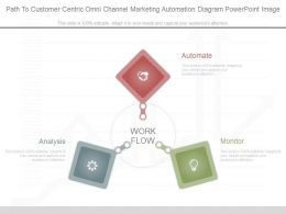 Path To Customer Centric Omni Channel Marketing Automation Diagram Powerpoint Image