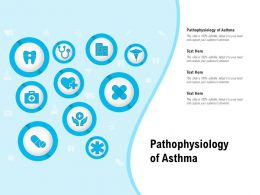 Pathophysiology Of Asthma Ppt Powerpoint Presentation Icon Structure