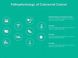 Pathophysiology Of Colorectal Cancer Ppt Powerpoint Presentation Portfolio Icons