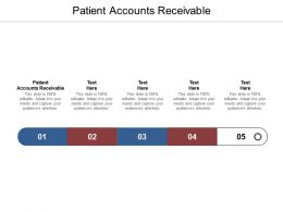 Patient Accounts Receivable Ppt Powerpoint Presentation File Display Cpb