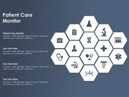 Patient Care Monitor Ppt Powerpoint Presentation Slides Objects