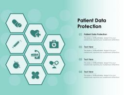 Patient Data Protection Ppt Powerpoint Presentation Icon Information