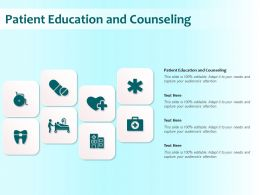 Patient Education And Counseling Ppt Powerpoint Presentation Inspiration Rules