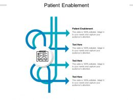 Patient Enablement Ppt Powerpoint Presentation Icon Graphics Cpb