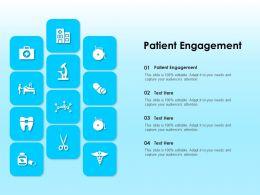 Patient Engagement Ppt Powerpoint Presentation Slides Portrait